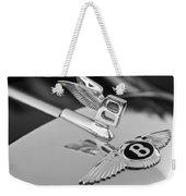 Bentley Hood Ornament 5 Weekender Tote Bag