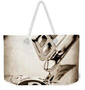 Bentley Hood Ornament - Emblem Weekender Tote Bag