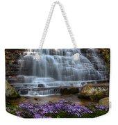 Benton Falls In Spring Weekender Tote Bag
