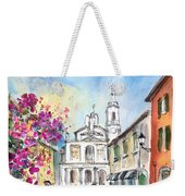 Bergamo Lower Town 01 Weekender Tote Bag