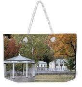 Berkeley Springs Bandstand In West Virginia Weekender Tote Bag