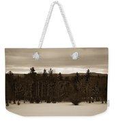 Berkshires Winter 1 - Massachusetts Weekender Tote Bag