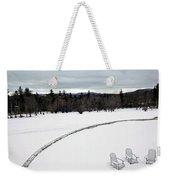 Berkshires Winter 2 - Massachusetts Weekender Tote Bag