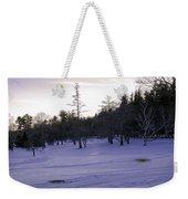 Berkshires Winter 5 - Massachusetts Weekender Tote Bag