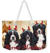 Berner Holiday Weekender Tote Bag