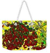 Berries Art Weekender Tote Bag