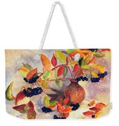 Berry Harvest Still Life Weekender Tote Bag