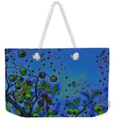 Berry Sky Magic By Jrr Weekender Tote Bag