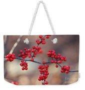 Berry Sparkles Weekender Tote Bag