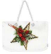 Berry Star Weekender Tote Bag