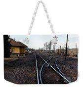 Berthoud R R Station Weekender Tote Bag
