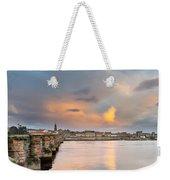 Berwick And Its Old Bridge Weekender Tote Bag