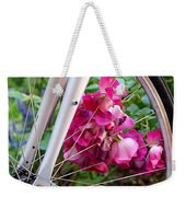 Bespoke Flower Arrangement Weekender Tote Bag by Rona Black