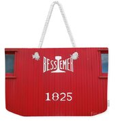 Bessemer Train Weekender Tote Bag