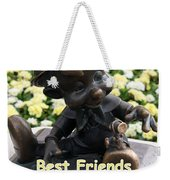 Best Friends Weekender Tote Bag