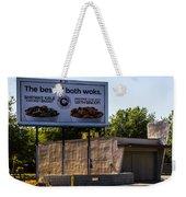 Best Of Both Woks Weekender Tote Bag