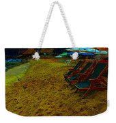 Best Seats In The House...beachside Weekender Tote Bag