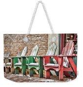 Best Seats In Town Weekender Tote Bag