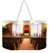 Beth El Jacob Temple In Des Moines Weekender Tote Bag