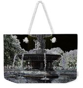 Bethesda Fountain Abstract Weekender Tote Bag