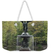 Bethesda Fountain Central Park Nyc Weekender Tote Bag