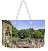 Bethesda Fountain V - Central Park Weekender Tote Bag