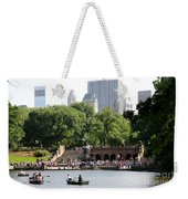 Bethesda Terrace And Fountian Nyc Weekender Tote Bag