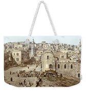 Bethlehem Manger Square 1900 Weekender Tote Bag