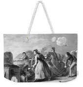 Betsy Doyle A Soldiers Wife Helping Weekender Tote Bag