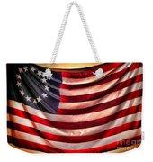 Betsy Ross Flag Weekender Tote Bag