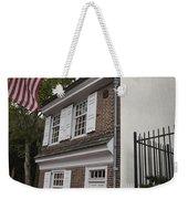 Betsy Ross House Philadelphia Pennsylvania Weekender Tote Bag