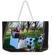 Betsy The Red Nose Moo-cow Weekender Tote Bag