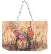 Betsy's Flowers 2 Weekender Tote Bag