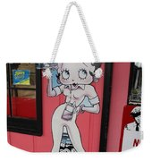 Betty Boop 3 Weekender Tote Bag