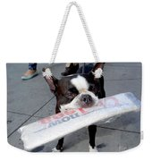 Betty The News Dog Weekender Tote Bag
