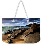 Between Rocks And Water Weekender Tote Bag