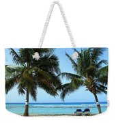 Between The Palms Weekender Tote Bag