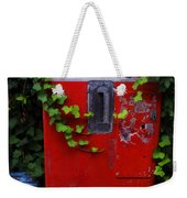 Austin Texas - Coca Cola Vending Machine - Luther Fine Art Weekender Tote Bag