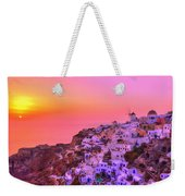 Bewitched Sunset Weekender Tote Bag