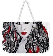 Beyonce The Beautiful Weekender Tote Bag