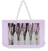 Beyond A Garden's Picket Fence Weekender Tote Bag