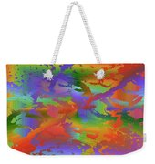 Beyond The Albatross Rainbow Weekender Tote Bag