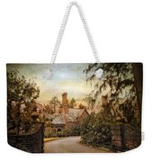 Beyond The Gates Weekender Tote Bag by Jessica Jenney