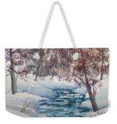 Beyond The Pond Weekender Tote Bag