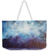 Beyond The Purple Hills Weekender Tote Bag