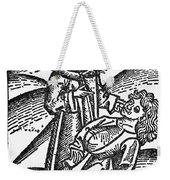 Bezoar Stone, 1491 Weekender Tote Bag