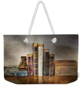 Bibles And Hymnbooks Weekender Tote Bag by David and Carol Kelly