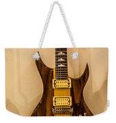 Bich Electric Guitar Colored Weekender Tote Bag