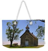 Bichet School In Marion County In Kansas Weekender Tote Bag