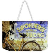 Bicycle 01 Weekender Tote Bag
